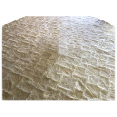 Treasure Designer Patchwork Sheepskin Rug in Natural White, Made in Australia