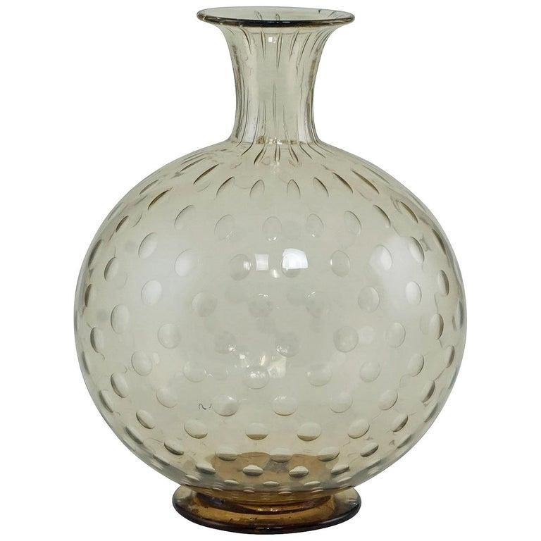 """Napoleone Martinuzzi Attributed for Venini """"a Bolle"""" Vase, circa 1927 1"""