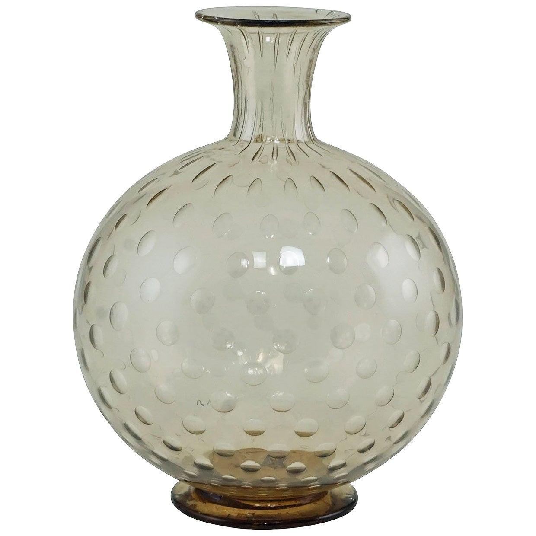 """Napoleone Martinuzzi Attributed for Venini """"a Bolle"""" Vase, circa 1927"""