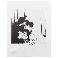"Joseph Beuys, Lithography ""L'Udito"", 1974"
