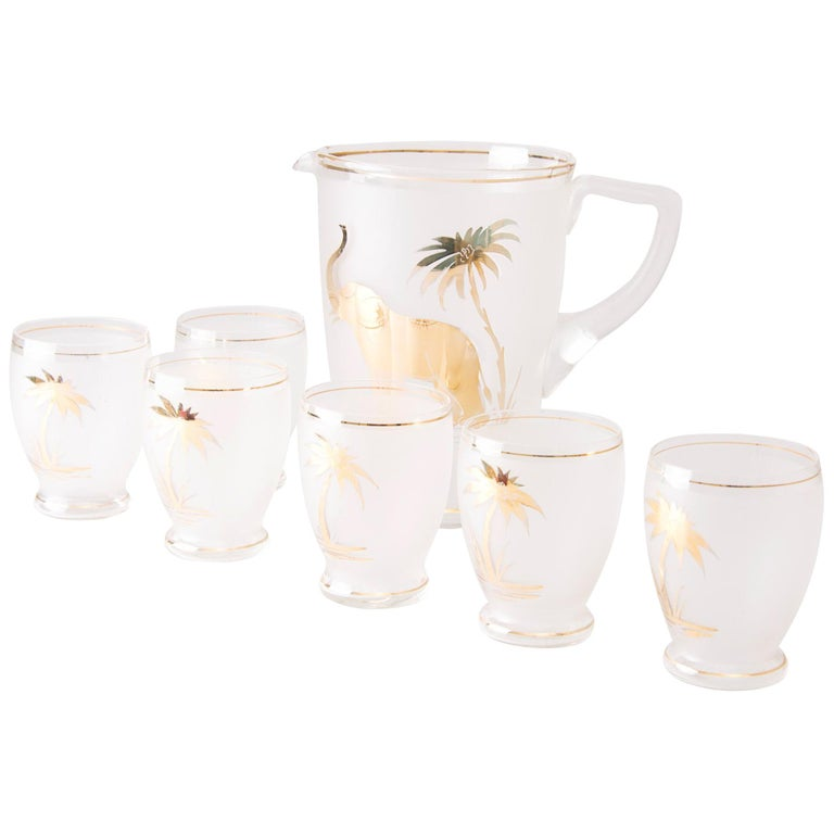 Art Deco Water Set For Sale