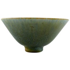Carl-Harry Stålhane, Rørstrand, Ceramic Bowl, Beautiful Egg Shell Glaze in Blue