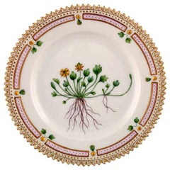 Royal Copenhagen Flora Danica Dessert Plate