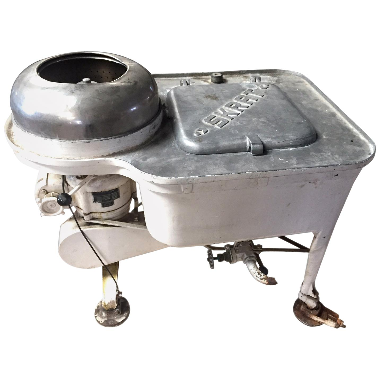 Washing Machine, Metal, Etc. Skrat, Model P-7, Leonard Ryznar, circa 1945