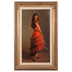 Portrait of a Spanish Dancer by Reza Samimi
