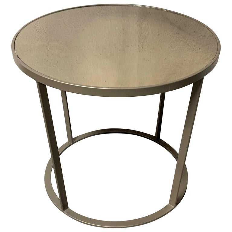 Champagne Mirrored Coffee Table: New Coffee Or Side Table In Champagne Color With Smoked