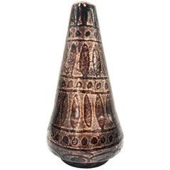Enameled Vase, Italy, 1960s