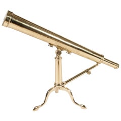 Library Telescope by James Pettit, Signed and Dated 1844