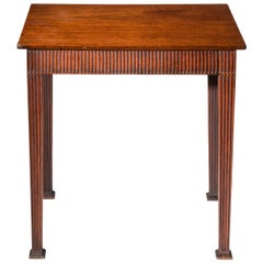 English 18th Century George III Neoclassical Side Table