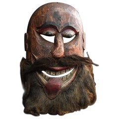 German Carnival Mask c.1920