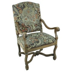 Antique Art Nouveau Armchair, circa 1900