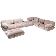 Nude Colored Modular Sofa by Mario Bellini 'Camaleonda'
