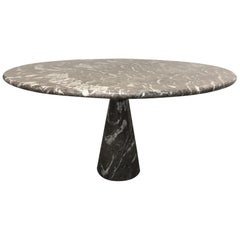 Angelo Mangiarotti Marble Circular Table