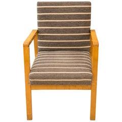 Hallway Chair 51, Alvar Aalto, Artek, Finland, 1940s
