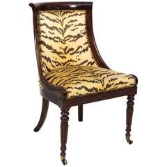 Mahogany Empire Style Chair