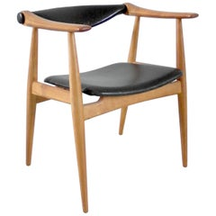 "Hans Wegner CH34 ""Yoke"" Chair for Carl Hansen, Denmark, 1959"