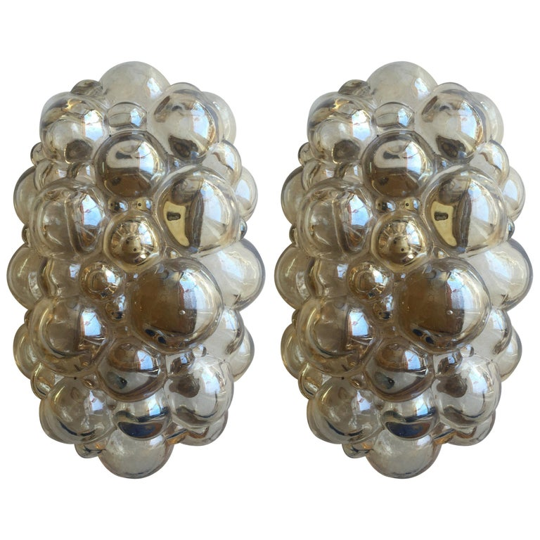 Pair of Limburg Helena Tynell Bubble Wall Lights For Sale