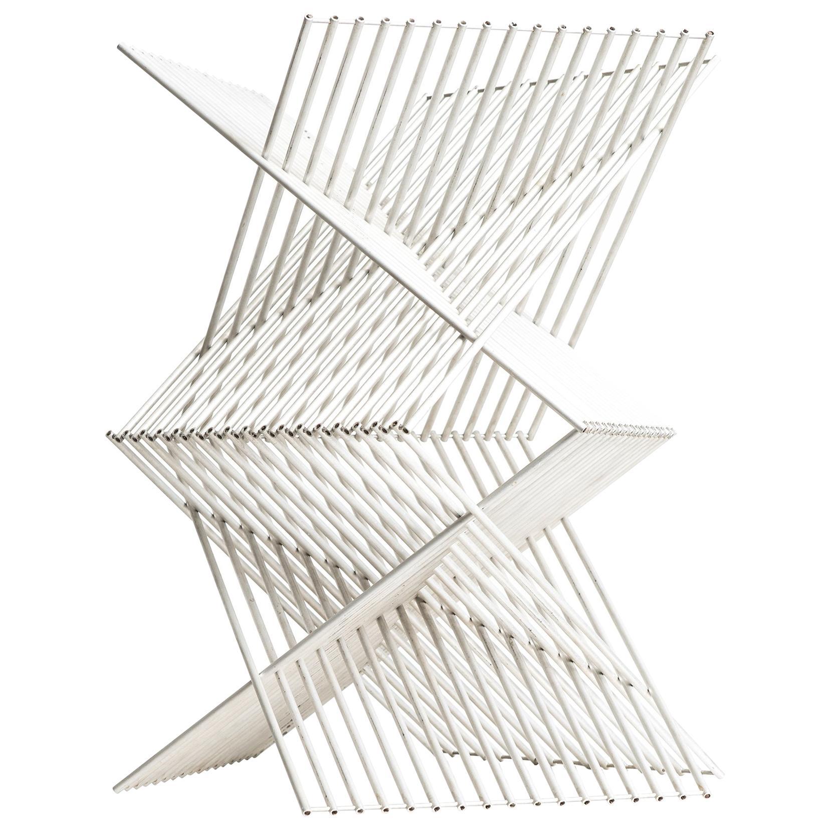 Bertil Herlow Svensson Sculpture Construction in Aluminium