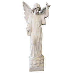 Carrera Marble Statue of Rapheal