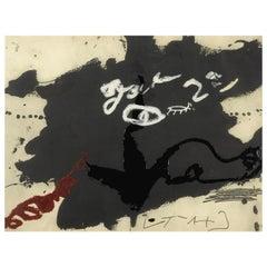 Roig I Negre I 'Galfetti 1020' by Antoni Tapies