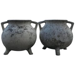 Pair of Cement Planters, Willy Guhl