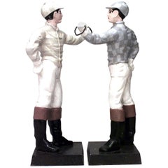 2 Outdoor Victorian Jockey Hitching Posts