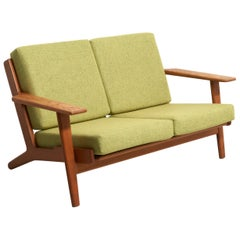 2-Seat Sofa by Hans Wegner, Model GE-290/2 for GETAMA