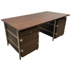 Jules Wabbes Schreibtisch von Bergwood, Belgien 1969