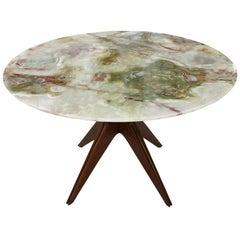 Mid-Century Modern Onyx Italian Table, 1950