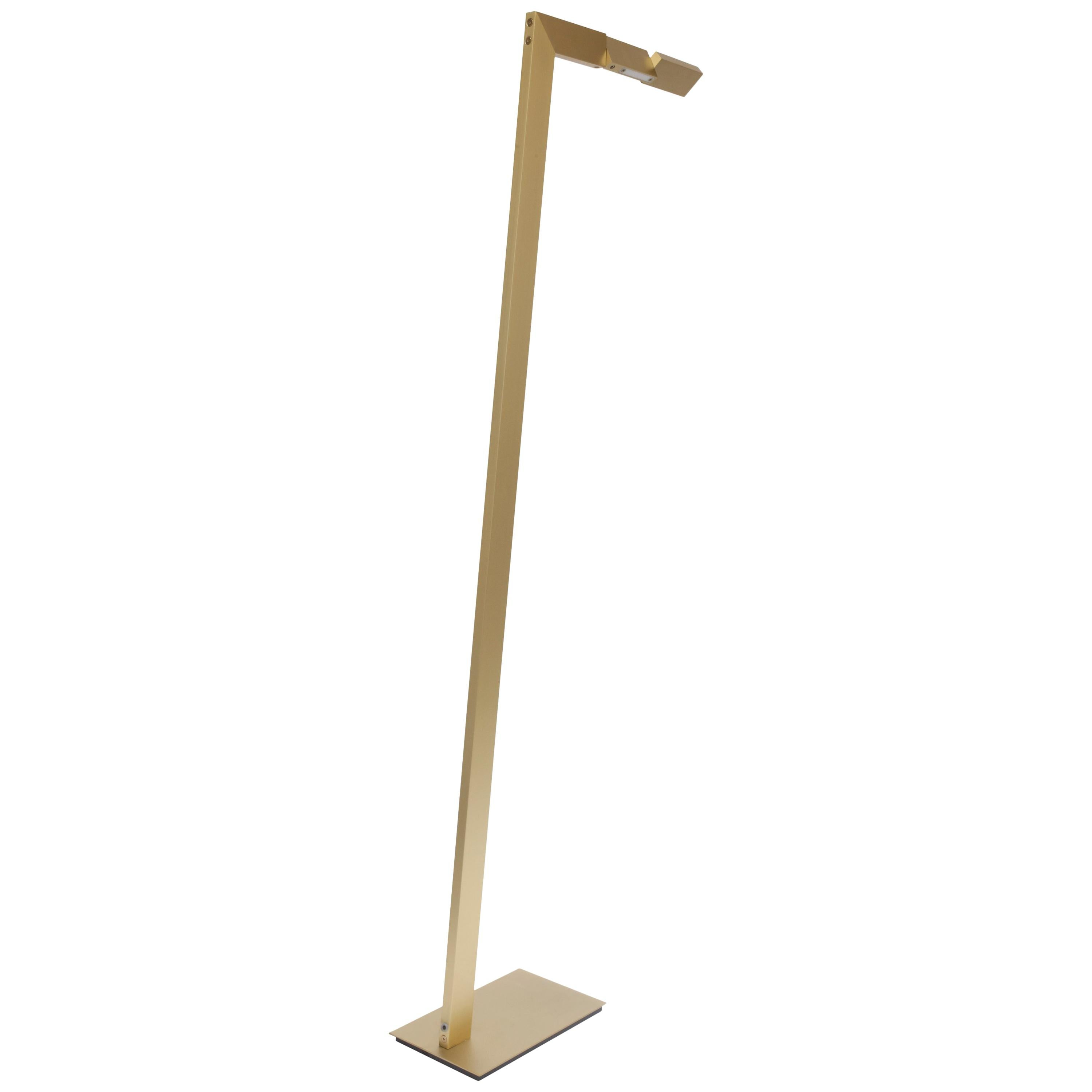 Contemporary 001 Floor Lamp in Brass by Orphan Work