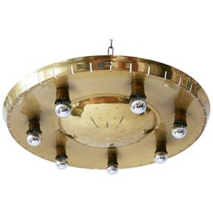 Rare Mid-Century Ceiling Light or Chandelier by Günter Trieschmann 'Attributed'