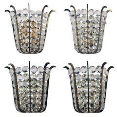 Set of Four Bakalowits Wall Sconces