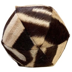 "Forsyth 7"" Zebra Ball Pillow"