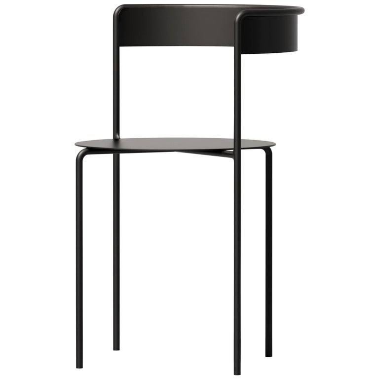 Avoa Chair in Black by Pedro Paulo Venzon, 1stdibs New York For Sale