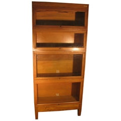 Globe Wernicke Oak Stacking Barrister Bookcase, circa 1920