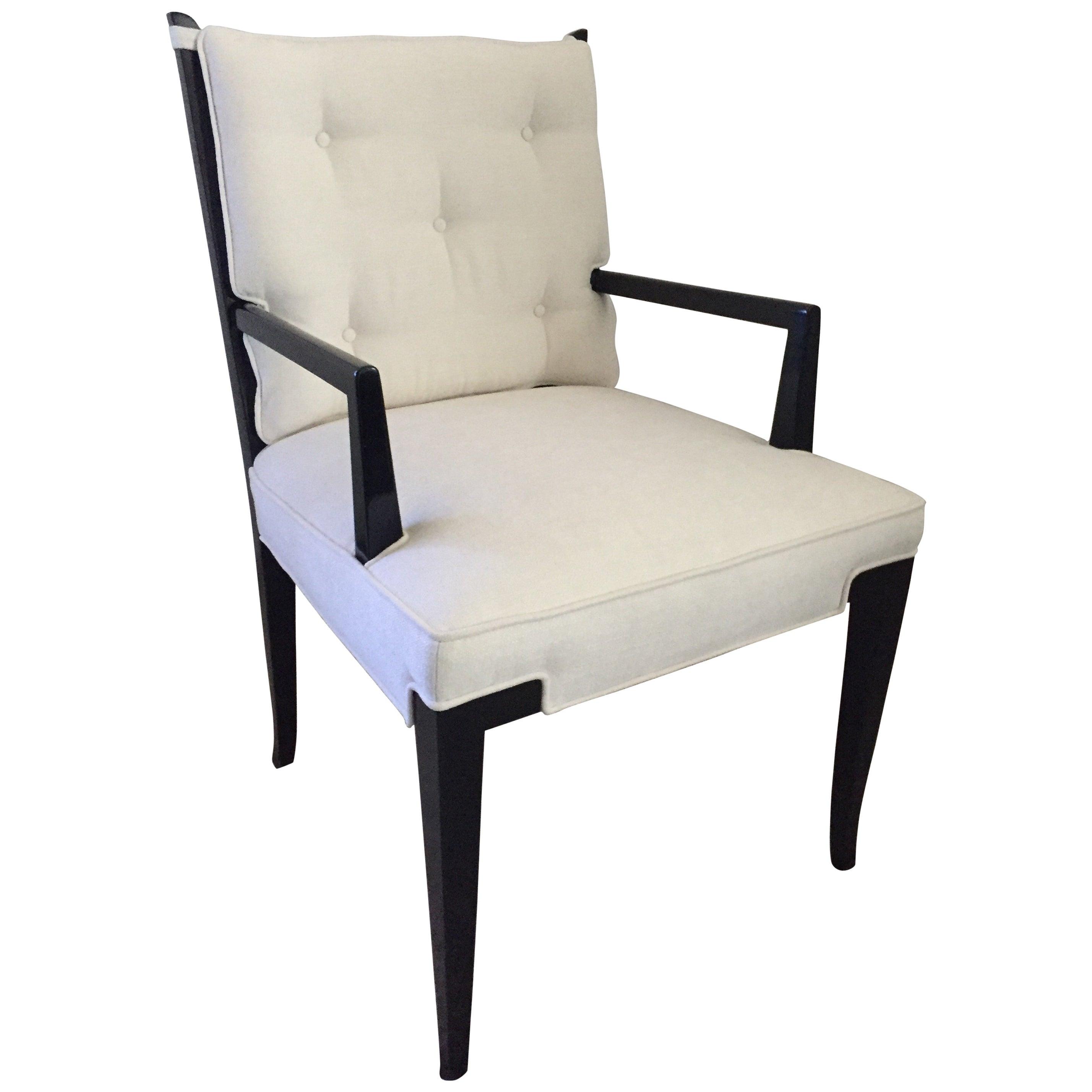 Set of Ten Tommi Parzinger Dining Chairs Parzinger Originals