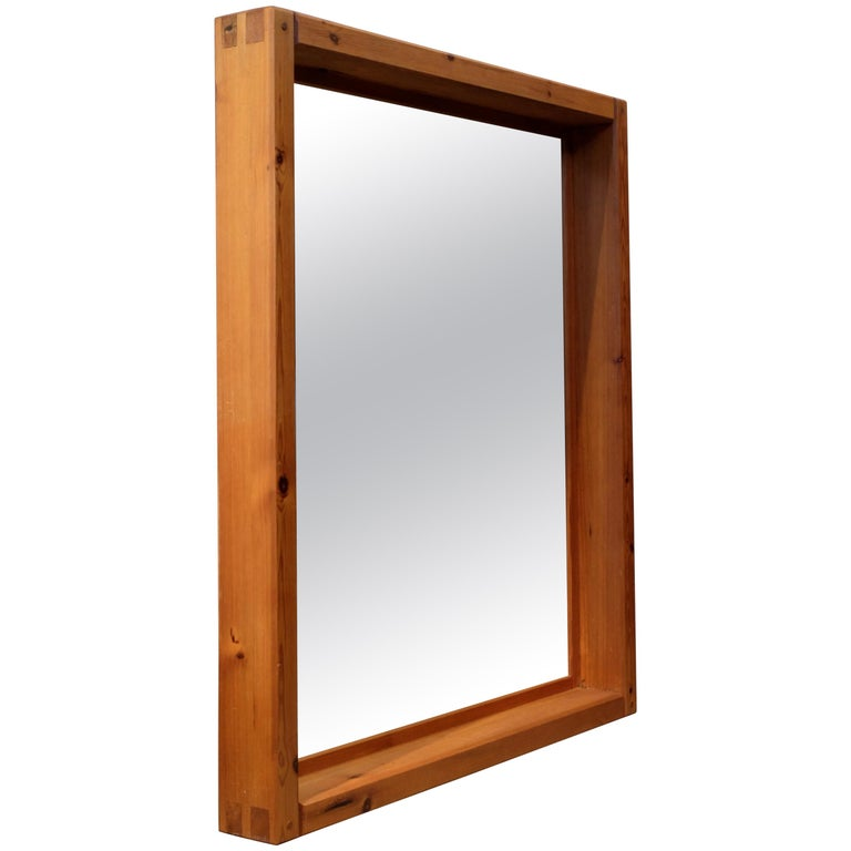 Large Mirror by Roland Wilhelmsson, 1960s For Sale