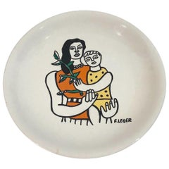 Fernand Leger Decorative Ceramic Plate