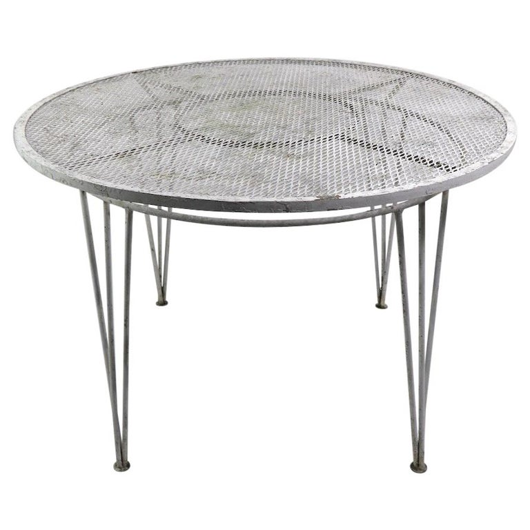 Salterini Garden Patio Dining Table For Sale