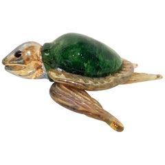 1960s Murano Glass Turtle