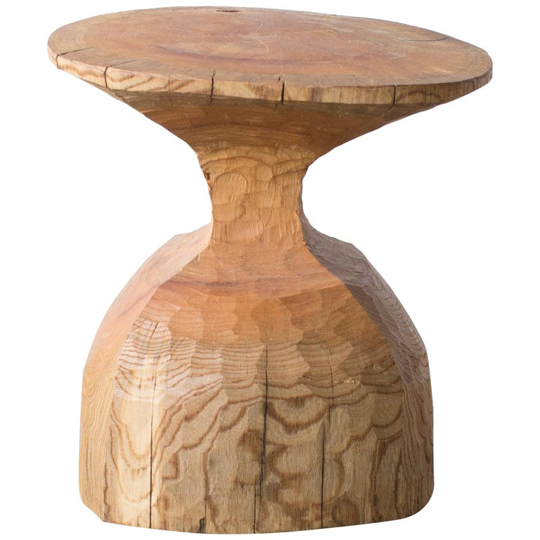 Hiroyuki Nishimura and Zogei Furniture Sculptural Stool6 glamping African Art For Sale