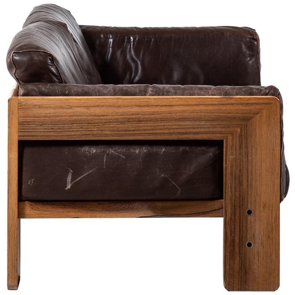 Tobia Scarpa Bastiano Sofa in Rosewood by Haimi in Finland