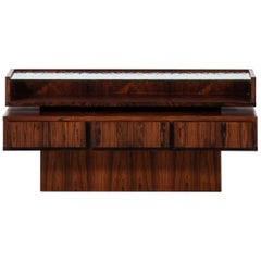 Small Sideboard in Rosewood Attributed to Ib Kofod-Larsen