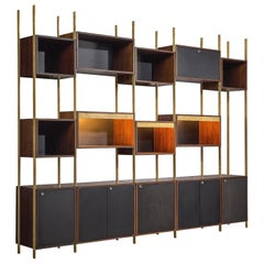 Jules Wabbes Case Pieces and Storage Cabinets