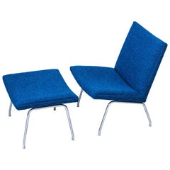 """AP-40"" Easy Chair and Ottoman by Hans J. Wegner"