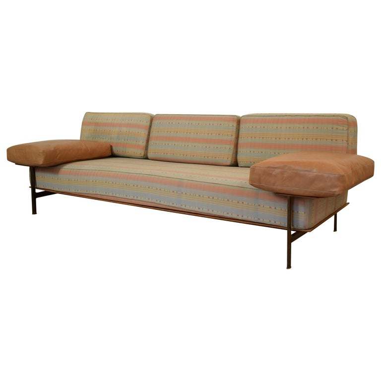 Midcentury Sofa by Antonio Citterio and Paolo Nava, Model Diesis for B&B For Sale