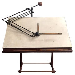 Drawing Table, Schmidt & Haensch, ISIS, Germany 20th Century