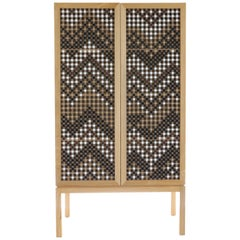 Ali Baba - Cabinet inspired by the Mousharabiyeh doors - Middle Eastern