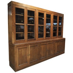 Commerce Solid Oak Bibliotheque Bookcase, circa 1920