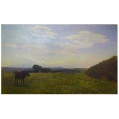 Otto P. Balle, 1865-1916, Impressionist Danish Summer Landscape